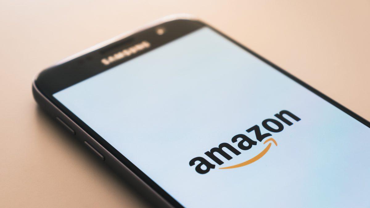 Amazon screen on mobile phone